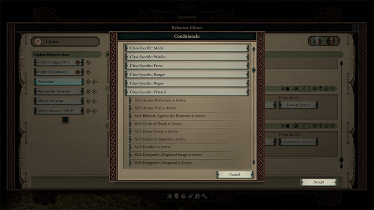More Custom AI Conditions Pillars of Eternity II Mod