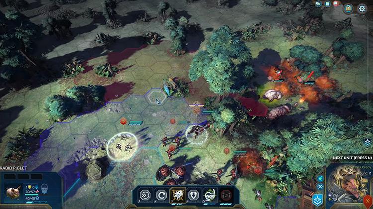 More Hero Skills Age of Wonders: Planetfall Mod