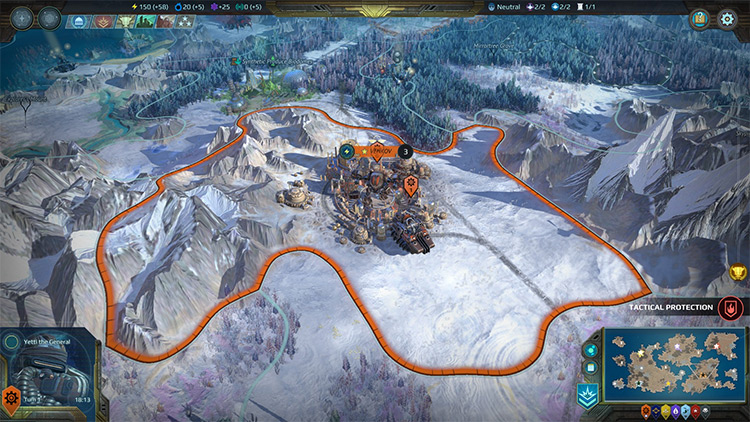 Artic World Scenario AoW Planetfall Mod