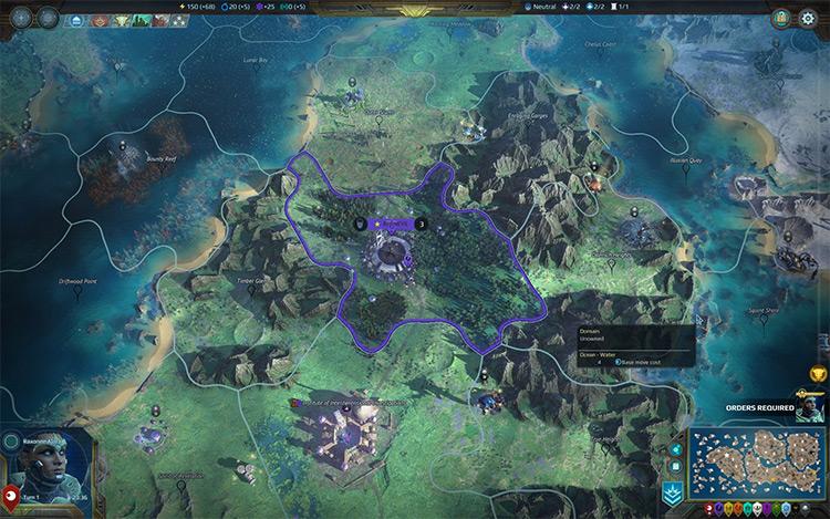 BiggerWorlds Age of Wonders: Planetfall Mod