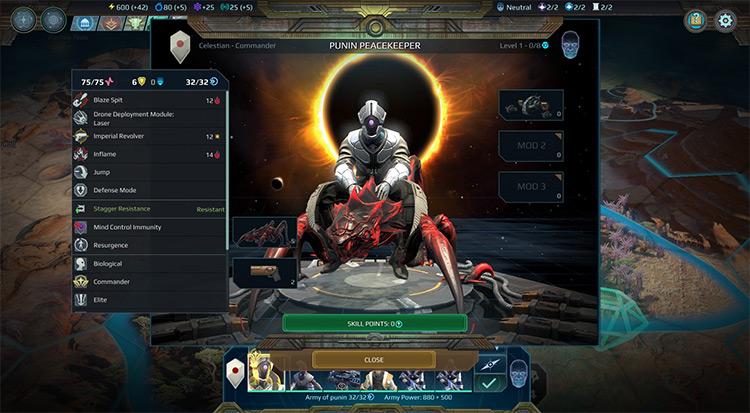 New Perks Age of Wonders: Planetfall Mod screenshot