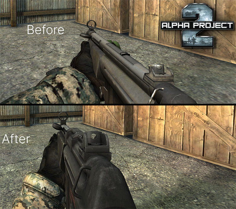 Alpha Project Mod for Battlefield 2