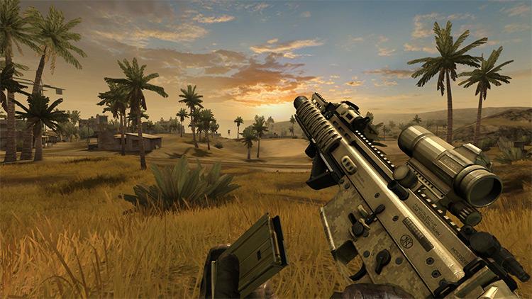 Spec Ops Warfare Battlefield 2 Mod