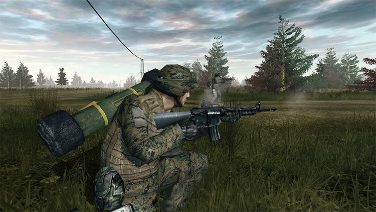 Combat Mod Battlefield 2 screenshot