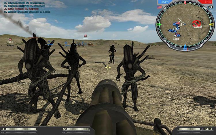 Nations at War Battlefield 2 Mod