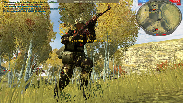 Total Realism Mod for Battlefield 2