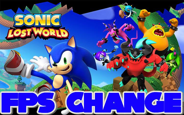 FPS Change Sonic Lost World Mod