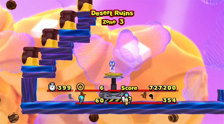 Classic Sonic Mod for Sonic Lost World