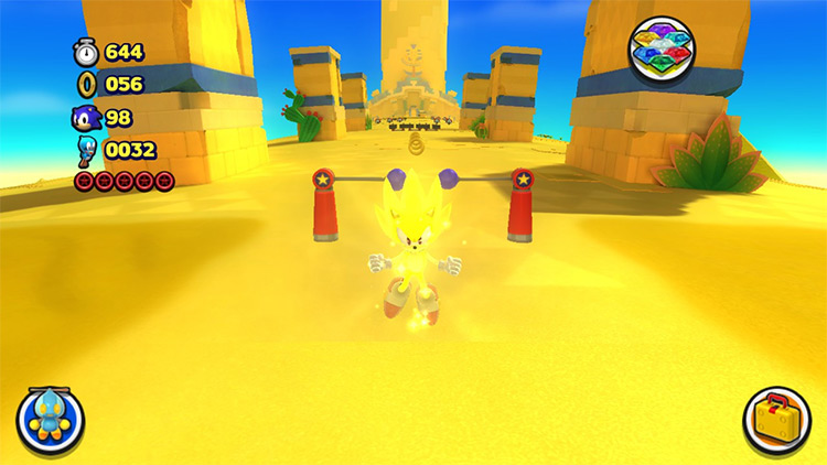 Forces Sonic Sonic Lost World Mod screenshot