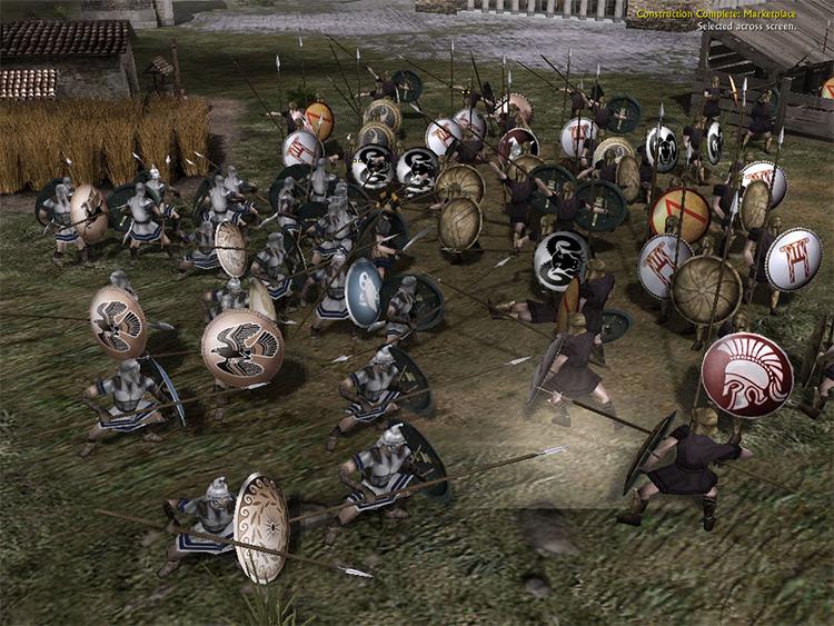 The Peloponnesian Wars Battle for Middle-Earth II Mod