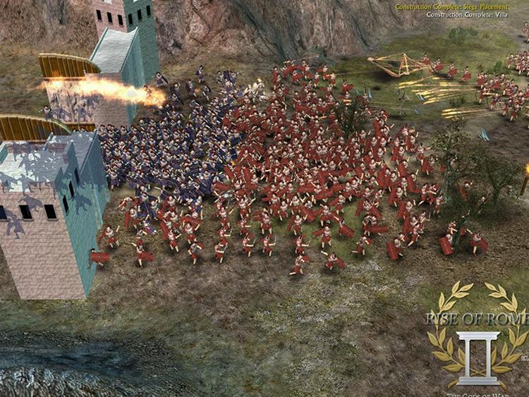 Rise of Rome II: The Gods of War BFME 2 Mod