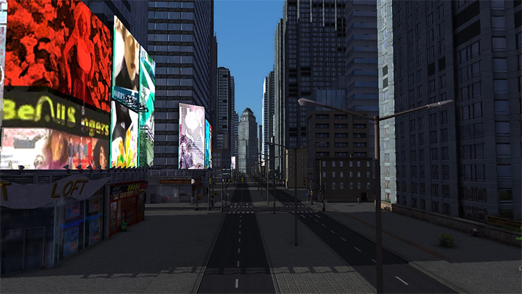 San Andreas Cities in Motion 2 Mod Map