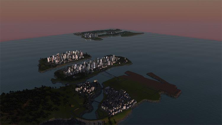 Liberty City vs. Vice City CIM2 Mod Map