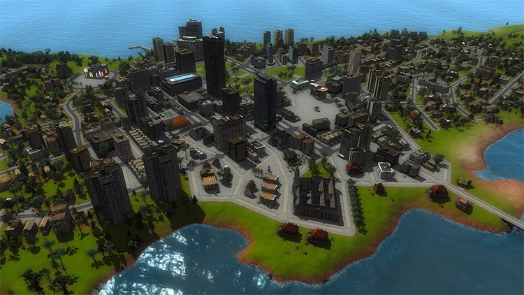 Gadana Archipelago CIM2 Mod Map