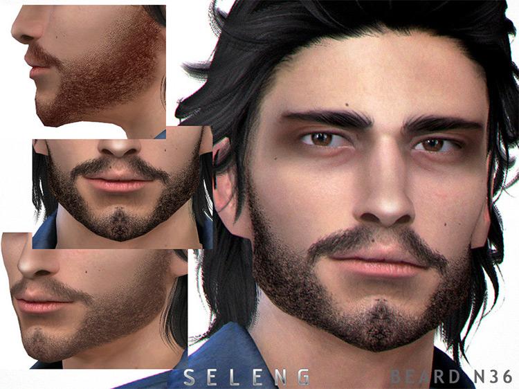 Beard N36 Sims 4 CC