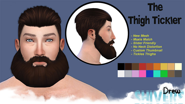 The Thigh Tickler for Sims 4