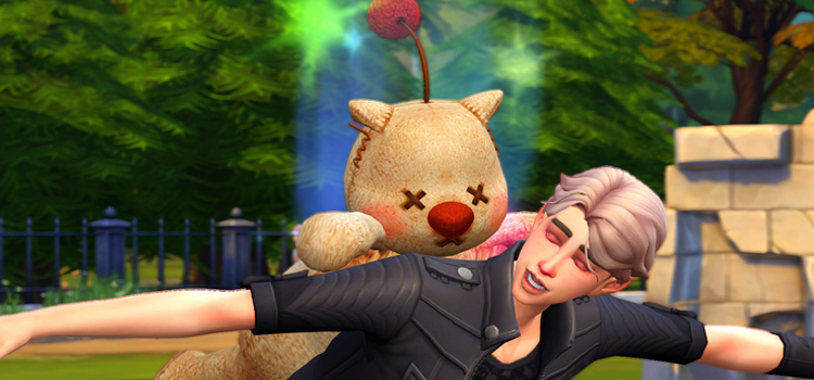 Moogle Costume for The Sims 4