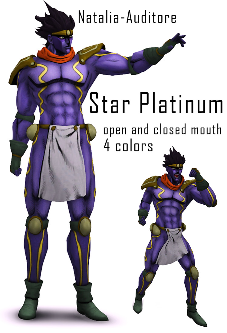 Star Platinum Outfit Sims 4 CC