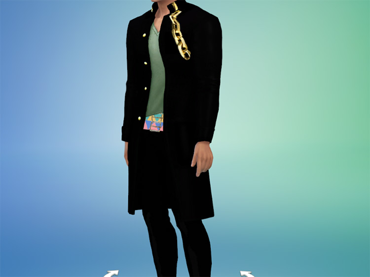 Various Jotaro Outfits for Sims 4