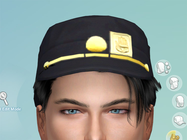 Various Jotaro Hats Sims 4 CC