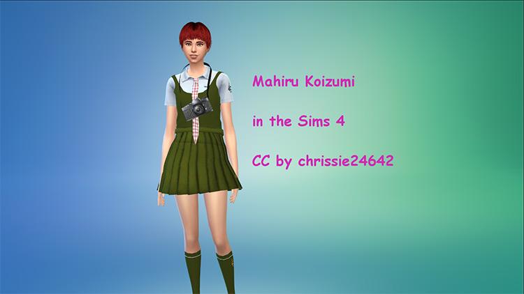 Aoi Asahina Sims 4 CC