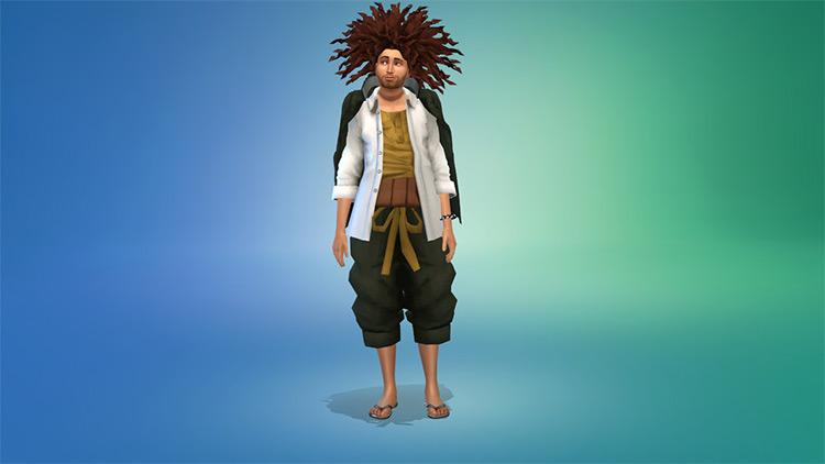 Yasuhiro Hagakure Sims 4 CC