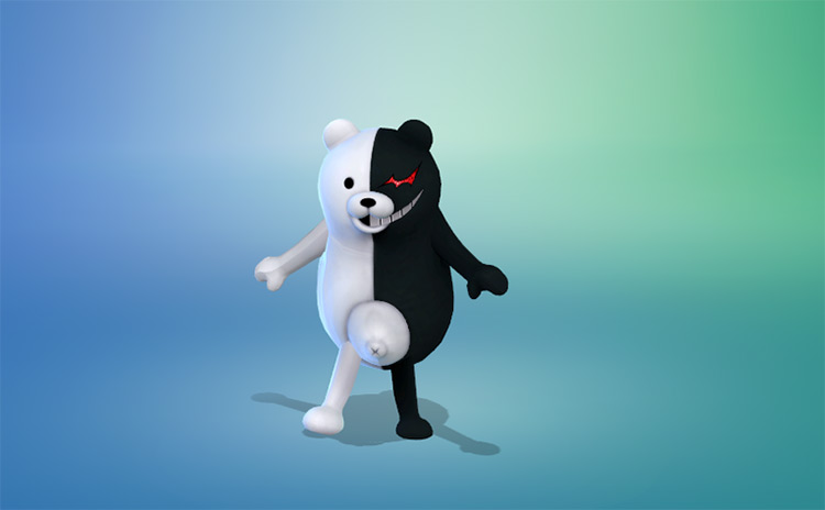 Monokuma Costume for Toddlers TS4 CC