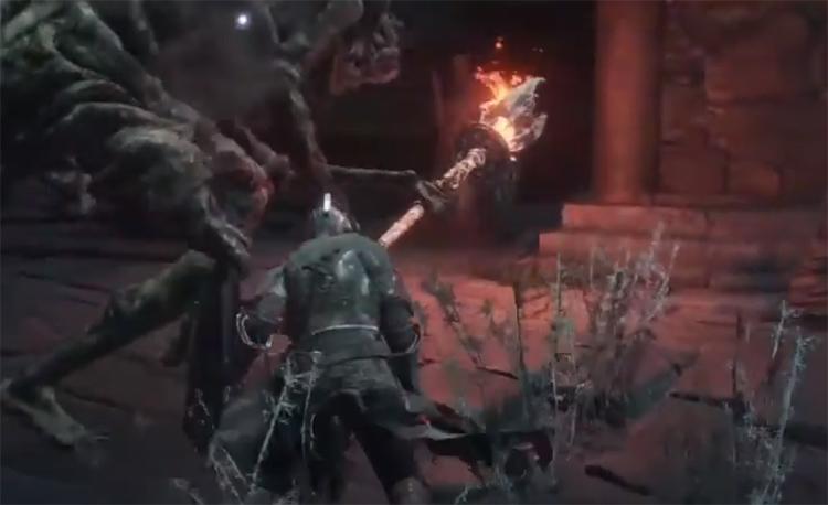 Preacher's Right Arm Screenshot - DS3 Staff