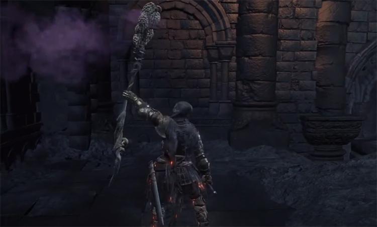 Storyteller's Staff in Dark Souls 3