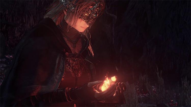 Fire Keeper Dark Souls 3 screenshot