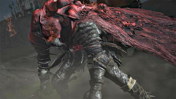 Slave Knight Gael from Dark Souls 3
