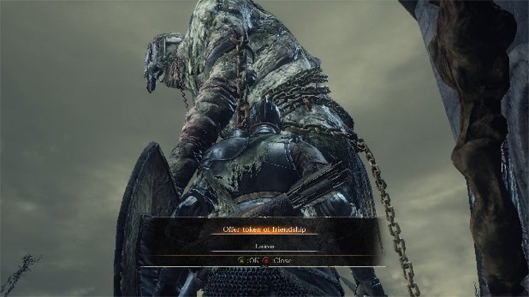 Giant of the Undead Settlement from Dark Souls 3