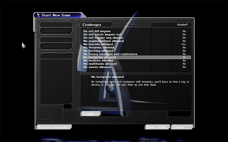 DXChallenge mod screenshot