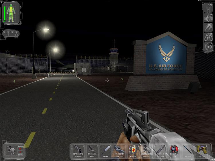 ZODIAC Deus Ex mod screenshot