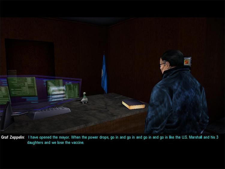Malkavian Mod Deus Ex screenshot