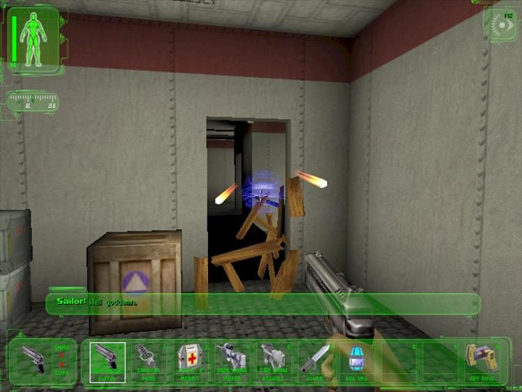 Shifter Deus Ex mod screenshot