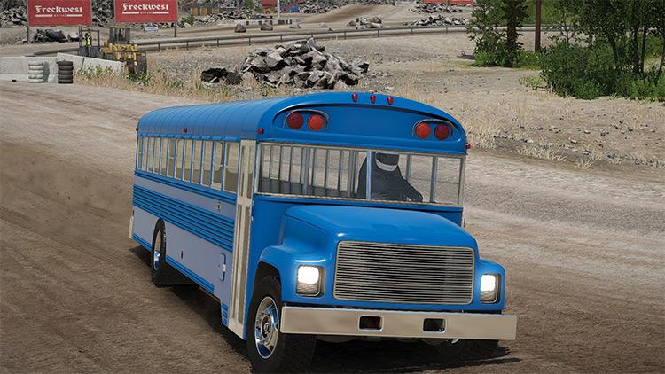 School Bus: Showroom Model Wreckfest mod screenshot