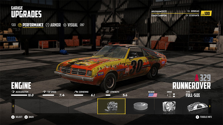 Outflat 1 vehicles mod for Wreckfest