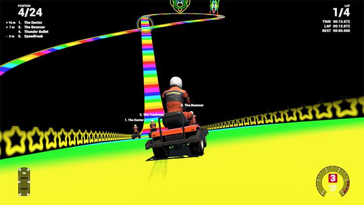 Rainbow Road 64 Wreckfest mod