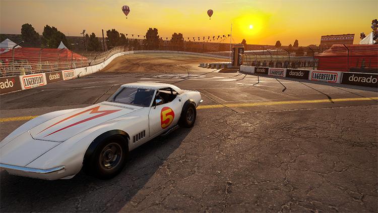 Speed Racer Skin Wreckfest mod