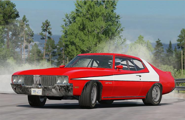 Starsky & Hutch Car mod for Wreckfest