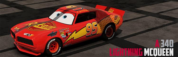 Cars Movie Skin Pack Wreckfest mod