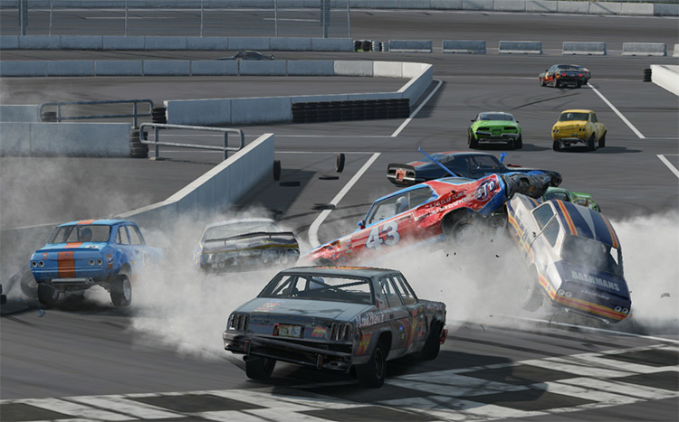 Angry Drivers Wreckfest mod screenshot