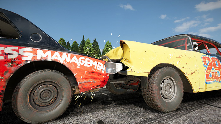 Pritchard's Contact Effects Mod for Wreckfest