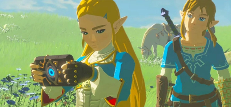 Princess Zelda in Breath of the Wild