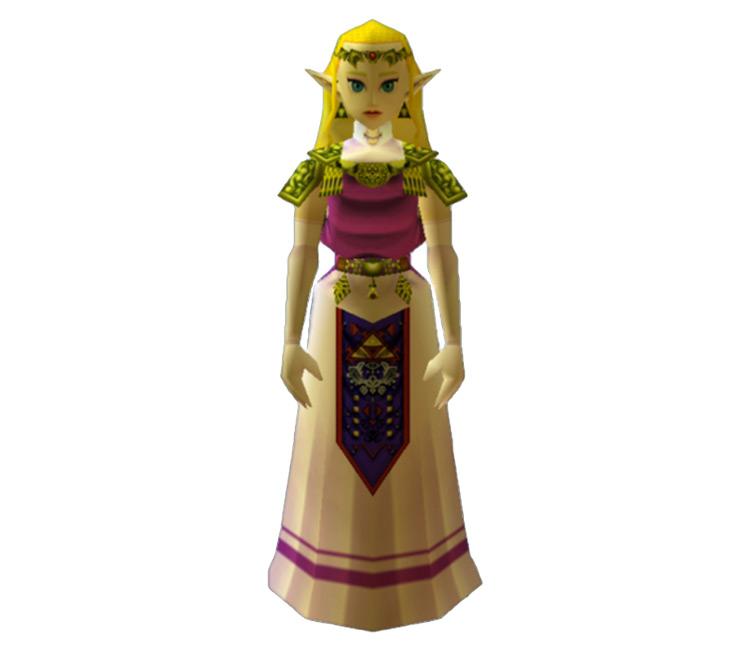 Princess Zelda Legend of Zelda screenshot