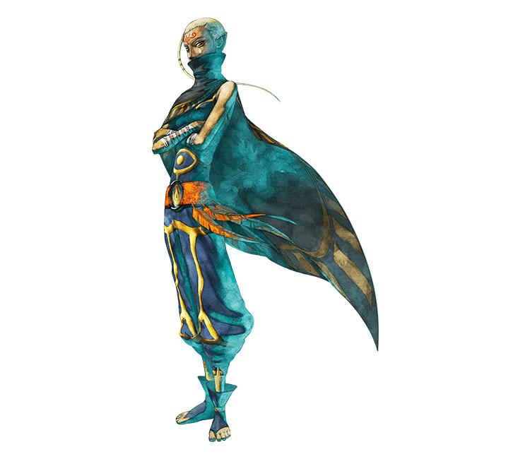 Impa Legend of Zelda screenshot