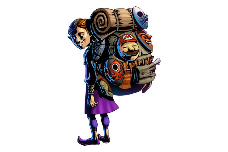 Happy Mask Salesman Legend of Zelda character