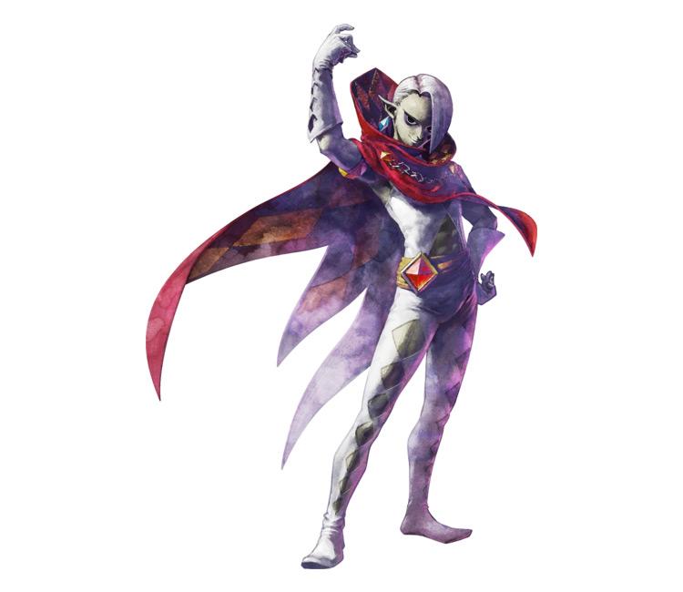 Ghirahim from Legend of Zelda