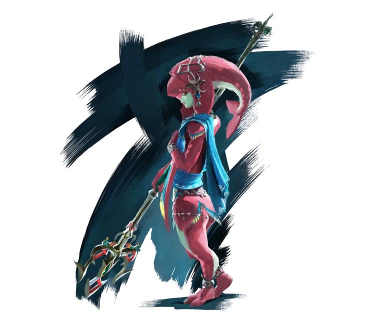 Mipha from Legend of Zelda